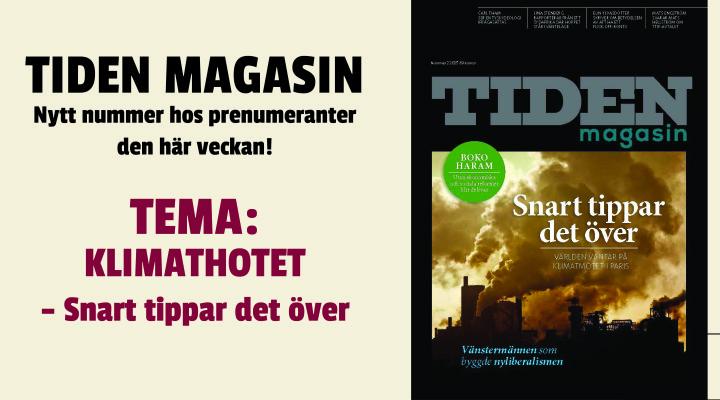 Nytt nummer av Tiden Magasin ute nu!